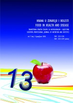 Food in health and disease : scientific-professional journal of nutrition and dietetics,Vol. 7 No. 1