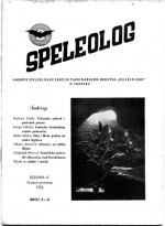 Speleolog,Vol. 2 No. 3-4