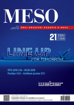 MESO : The first Croatian meat journal,Vol. XXI No. 2