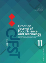 Croatian journal of food science and technology,Vol. 11 No. 1