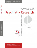 Archives of Psychiatry Research : An International Journal of Psychiatry and Related Sciences,Vol. 55 No. 1