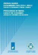Proceedings of Rijeka Faculty of Economics : Journal of Economics and Business,Vol. 37 No. 1