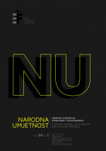 Narodna umjetnost : Croatian journal of ethnology and folklore research,Vol. 56 No. 1