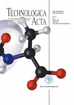 Technologica Acta : Scientific/professional journal of chemistry and technology,Vol. 12 No. 1