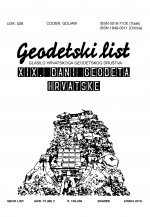 Geodetski list,Vol. 73 (96) No. 2