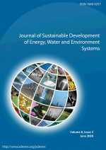 Journal of Sustainable Development of Energy, Water and Environment Systems,Vol. 8 No. 2