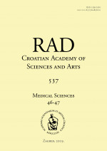 Rad Croatian Academy of Sciences and Arts. Medical sciences : Medical Sciences,No. 537=46-47