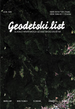 Geodetski list,Vol. 73 (96) No. 3