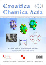 Croatica Chemica Acta,Vol. 92 No. 4