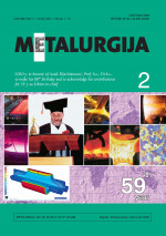 Metalurgija,Vol. 59 No. 2