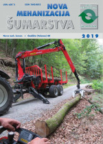 New Forestry Mechanisation : Journal for theory and application of forestry engineering,Vol. 40 No. 1