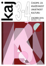 KAJ : Literature, Art and Culture Periodical,Vol. 52 (244) No. 3-4 (358-359)