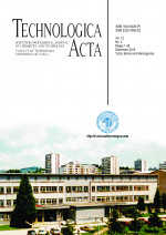 Technologica Acta : Scientific/professional journal of chemistry and technology,Vol. 12 No. 2