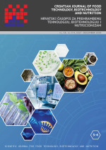 Croatian journal of food technology, biotechnology and nutrition,Vol. 14 No. 3-4