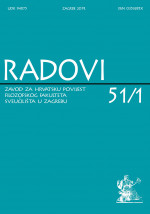 Journal of the Institute of Croatian History,Vol. 51 No. 1