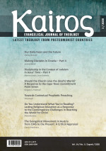 Kairos : Evangelical Journal of Theology,Vol. 14 No. 1
