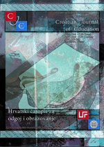 Croatian Journal of Education : Hrvatski časopis za odgoj i obrazovanje,Vol. 22 No. 1
