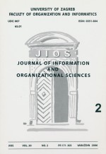Journal of Information and Organizational Sciences,Vol. 30 No. 2