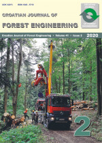 Croatian Journal of Forest Engineering : Journal for Theory and Application of Forestry Engineering,Vol. 41 No. 2