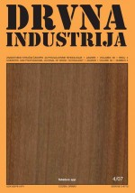 Drvna industrija,Vol.58 No.4