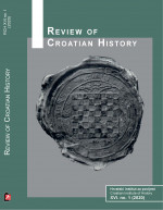 Review of Croatian history,Vol. XVI No. 1