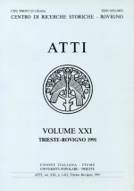 Atti,Vol. XXI No. 1