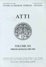Atti,Vol. XX No. 1
