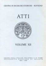 Atti,Vol. XII No. 1