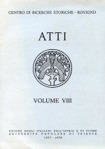 Atti,Vol. VIII No. 1