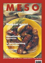 MESO : The first Croatian meat journal,Vol. VI No. 6