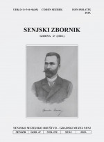 The anthology of Senj: contributions to geography, ethnology, economy, history and culture = Jahrbuch: Beiträge zur Geographie, Ethnologie, Ökonomik, Geschichte und Kultur,Vol. 47 No. 1