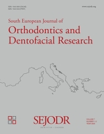 South European Journal of Orthodontics and Dentofacial Research,Vol. 7 No. 2