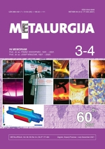 Metalurgija,Vol. 60 No. 3-4