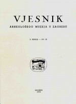 Journal of the Archaeological Museum in Zagreb,Vol. 9 No. 1