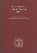 Colloquia Maruliana ...,Vol. 17 No. 17