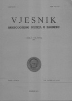 Journal of the Archaeological Museum in Zagreb,Vol. 34 No. 1