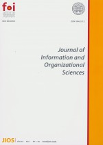 Journal of Information and Organizational Sciences,Vol. 32 No. 1