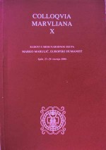 Colloquia Maruliana,Vol.10