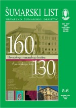 Journal of the Forestry Society of Croatia = Zeitschrift des Kroatischen Forstvereins = Revue de la Societe forestiere Croate,Vol. 130 No. 5-6