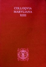 Colloquia Maruliana,Vol.14
