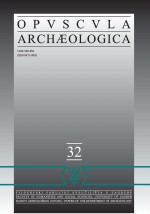 Opvscvla archaeologica,Vol. 32 No. 1