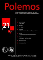 Polemos : Journal of Interdisciplinary Research on War and Peace,Vol. XI No. 21