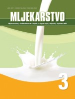 Mljekarstvo : journal for dairy production and processing improvement,Vol. 59 No. 3