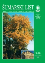 Journal of the Forestry Society of Croatia = Zeitschrift des Kroatischen Forstvereins = Revue de la Societe forestiere Croate,Vol. 133 No. 9-10