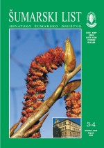 Journal of the Forestry Society of Croatia = Zeitschrift des Kroatischen Forstvereins = Revue de la Societe forestiere Croate,Vol. 130 No. 3-4