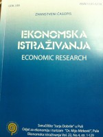 Economic research - Ekonomska istraživanja,Vol. 22 No. 4