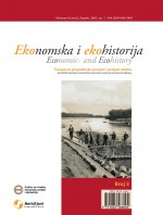 Economic and Ecohistory: Research Journal for Economic and Environmental History,Vol.3 No.1