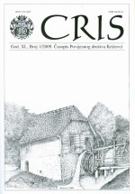 Cris : Journal of the Historical Society of Križevci,Vol. XI No. 1
