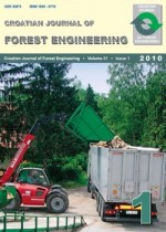 Croatian Journal of Forest Engineering : Journal for Theory and Application of Forestry Engineering,Vol. 31 No. 1