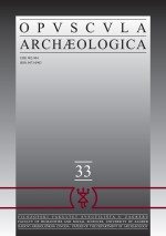 Opvscvla archaeologica,Vol.33 No.1